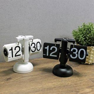 홈 인테리어 집들이선물 메탈 플립 스탠드시계 CHESS