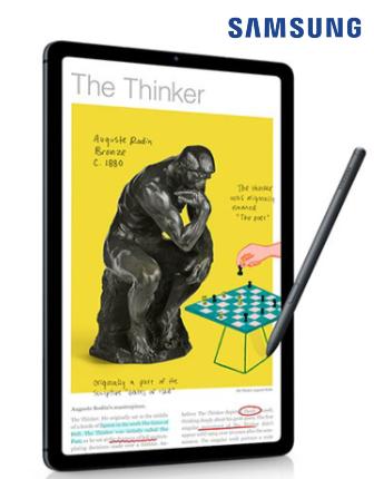 온라인 개학엔 삼성 갤럭시탭 S6