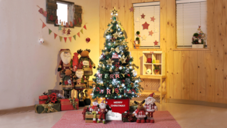 하트와 함께 크리스마스 홈파티♥